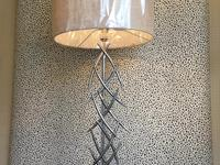 Chrome Fishbone Lamp