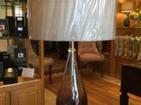 Tall Ambre Table Lamp